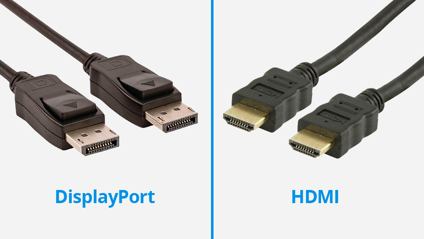 DisplayPort en hdmi kabels