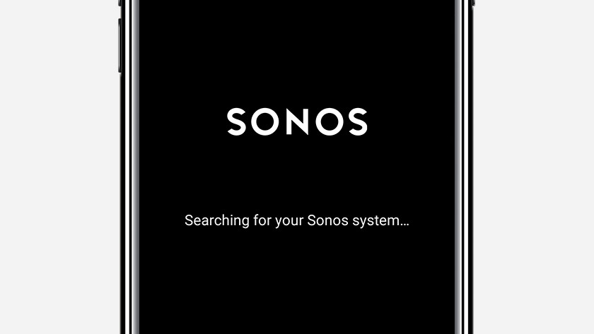 Step 2: open the Sonos Controller app