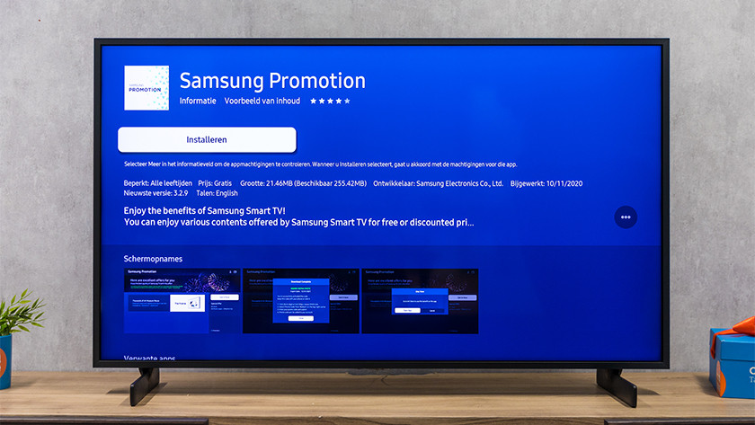 Samsung Promotion app