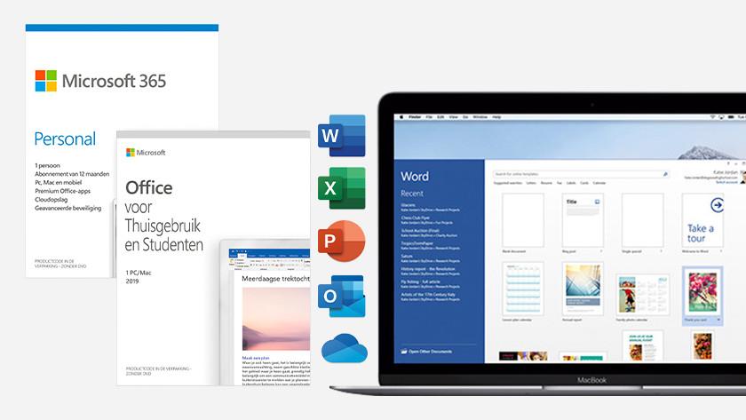 Word gebruiken op je Apple MacBook.