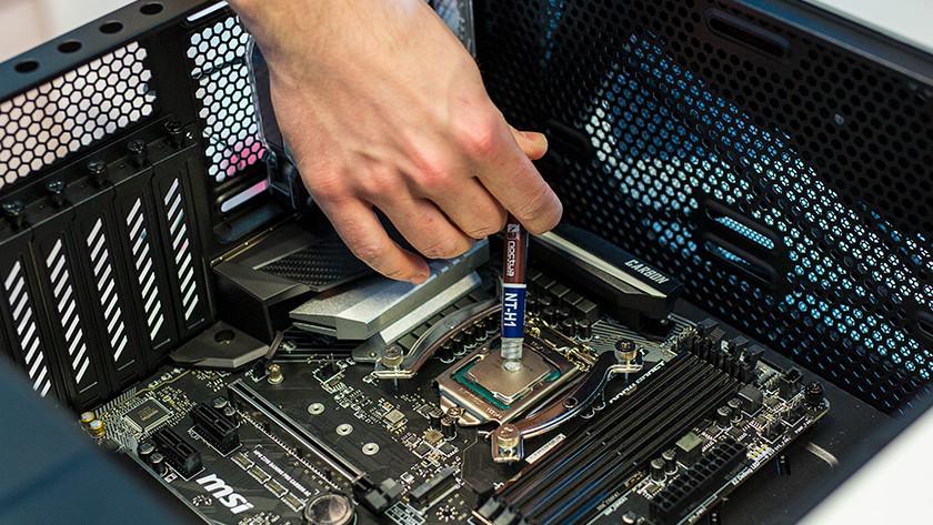 Koelpasta processor pc