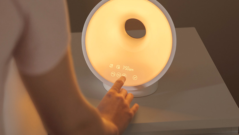 Somneo wake-up light