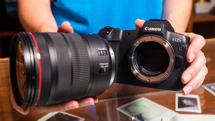 Vatting Canon systeemcamera's