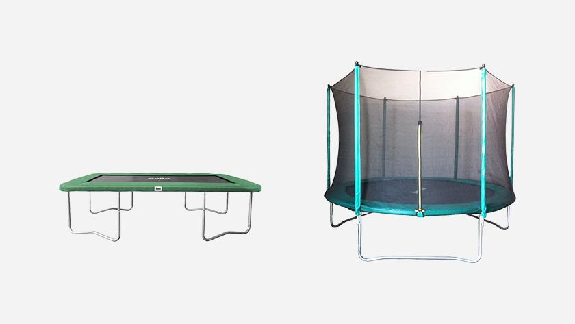 Goedkope trampolines