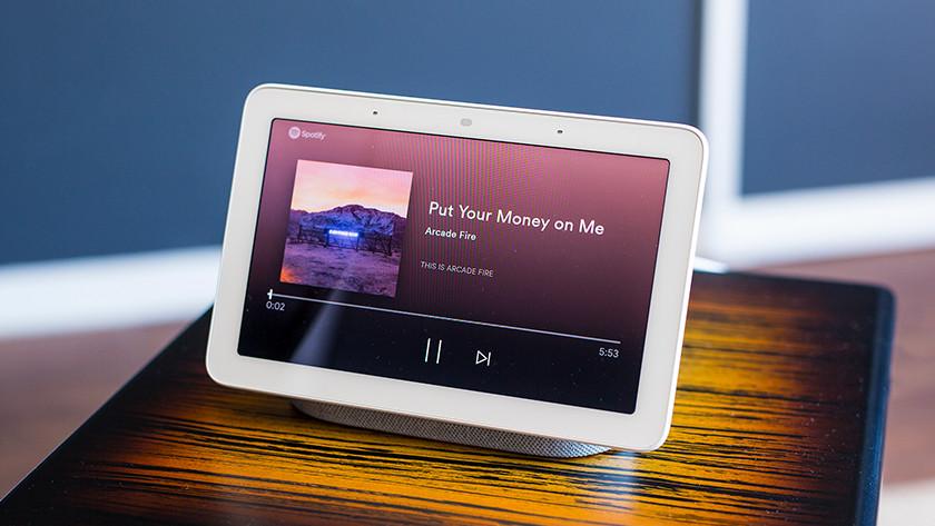 Google Nest Hub muziek