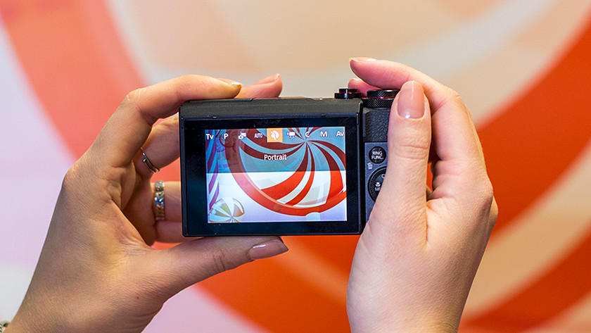 Bediening compact camera