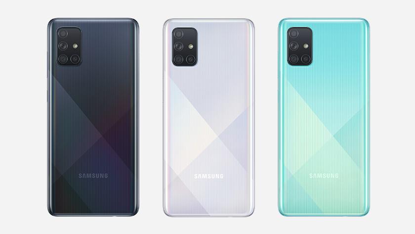 Samsung Galaxy A71 lineup memory