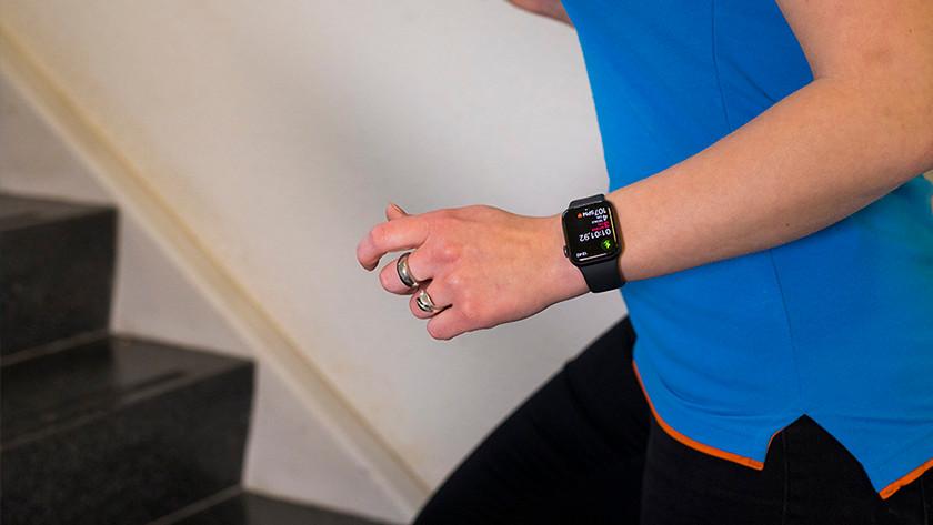 Sporten op Apple Watch