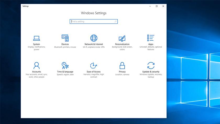 Check Windows settings.