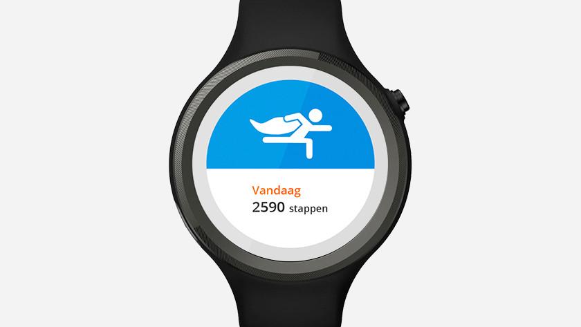 smartwatch steps
