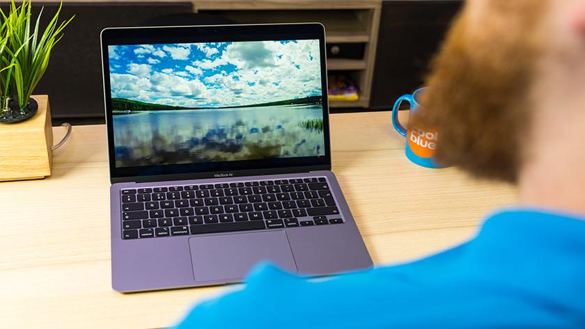 Beeldscherm MacBook Air