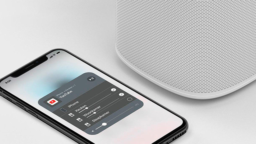 Sonos One connection
