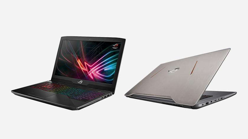 Asus ROG laptop.
