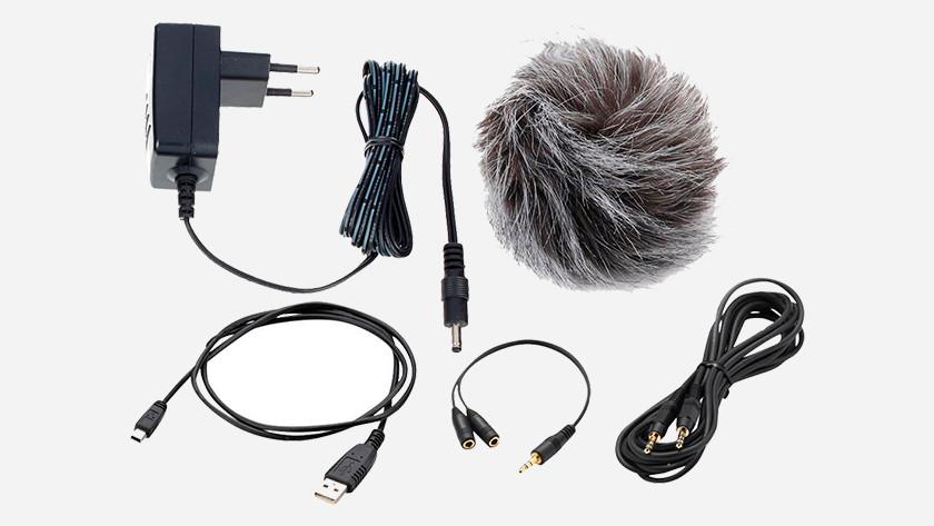 Welke accessoires maken het gebruik van een audio recorder prettiger