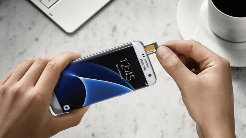 inhoud sd kaart bekijken samsung Samsung Galaxy S7 Edge met geheugenkaart: hoe werkt het