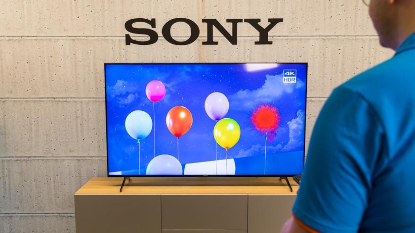 Kleurbereik en helderheid van de Sony X90J