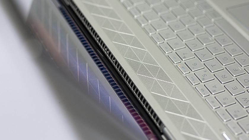 Ventilators van een HP laptop.