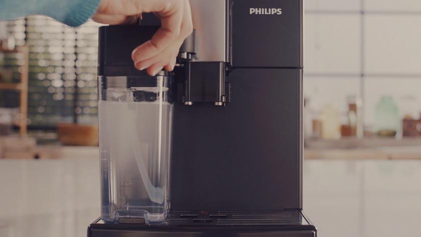 Philips volautomaat onderhouden