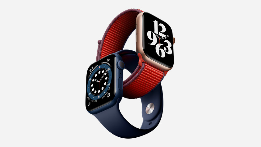 Apple Watch Series 6 saturatiemeter