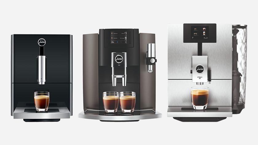 Jura koffiemachine kiezen