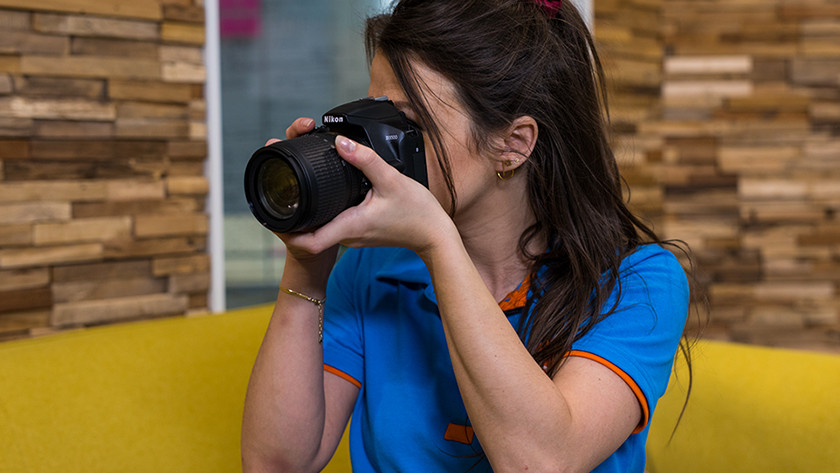 Gebruik Nikon D3500