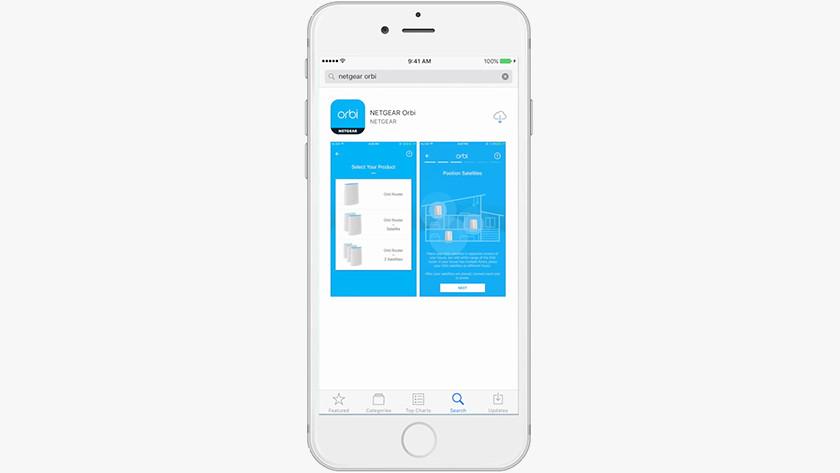 Stap 1: Installeer de app op je telefoon