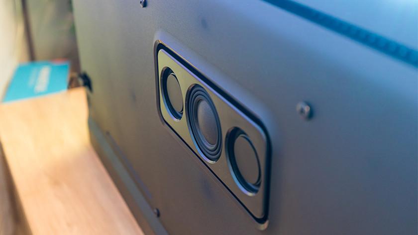 Geluid van de Philips OLED855