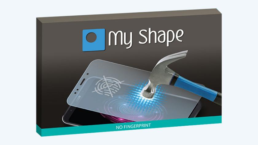 My Shape anti-fingerprint screenprotector