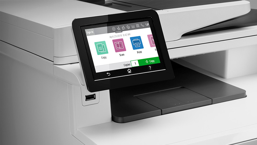 printer to scan, copy, and fax