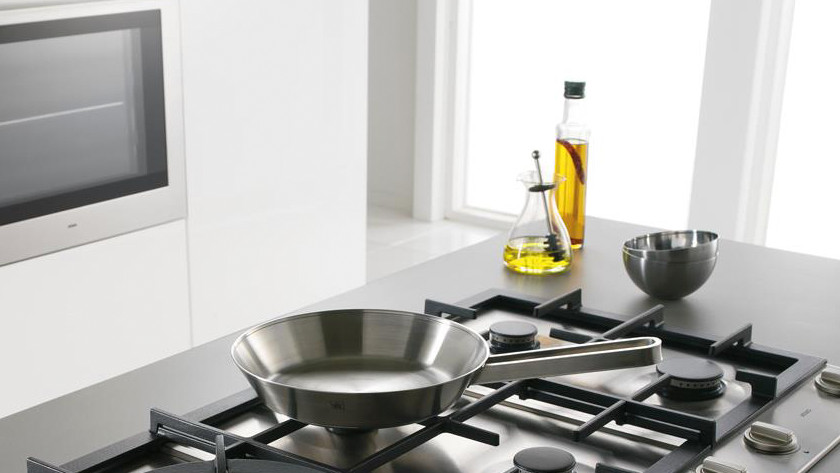 pans on gas hob
