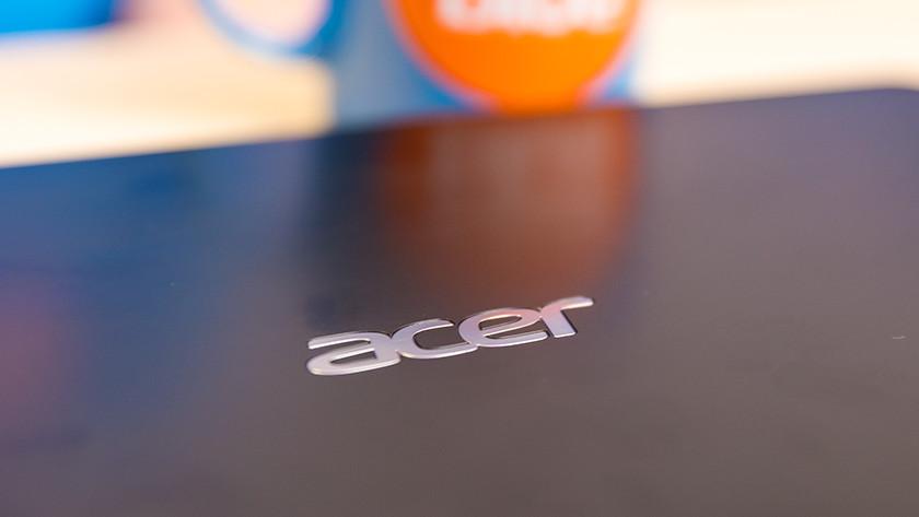 Acer laptop close-up.