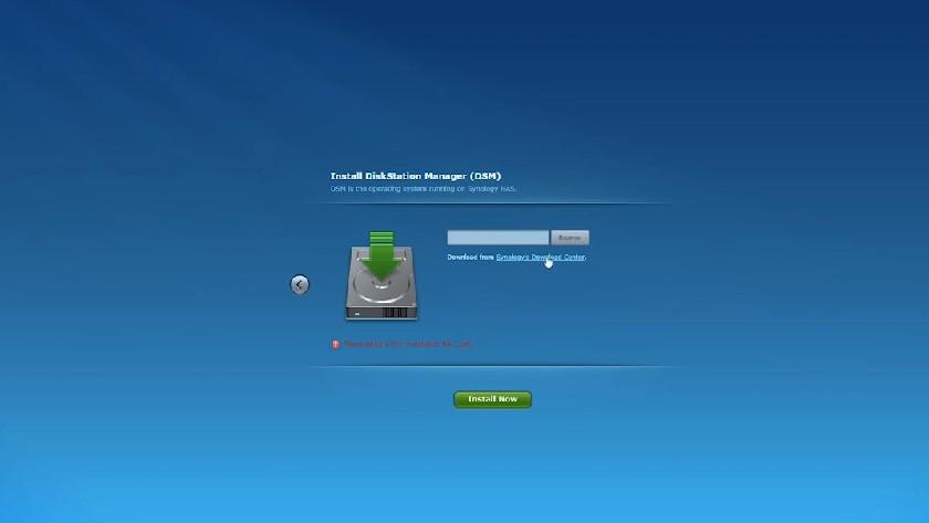 Install system NAS