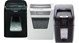 Paper shredders for the office