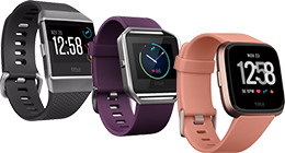 All Fitbit smartwatches