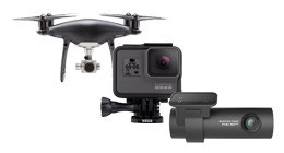 Video- & action camera's