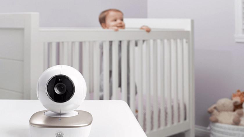 Camera & app smartphone babyfoons