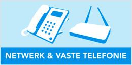 netwerk en vaste telefonie kabels