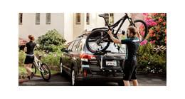 Thule fietsendragers op de achterklep