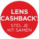 Ontvang tot € 800,- cashback op je lens!