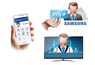 Samsung hulp op afstand