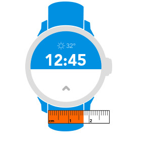 Maat horlogeband
