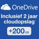 Gratis 2 jaar 200 GB cloudopslag