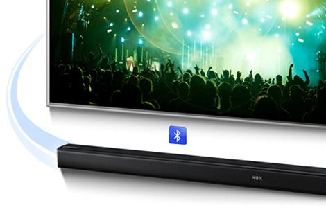 Samsung soundbars met TV SoundConnect