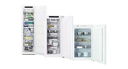 Built-in freezers