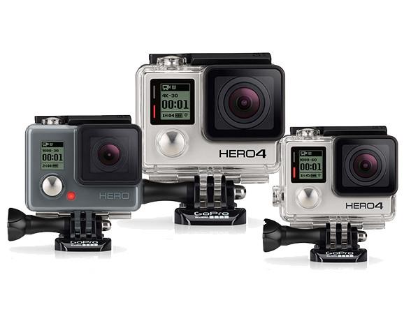 GoPro line up