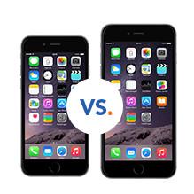 iPhone 6 en de iPhone 6 Plus