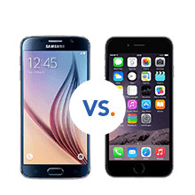 s6 versus iPhone 6