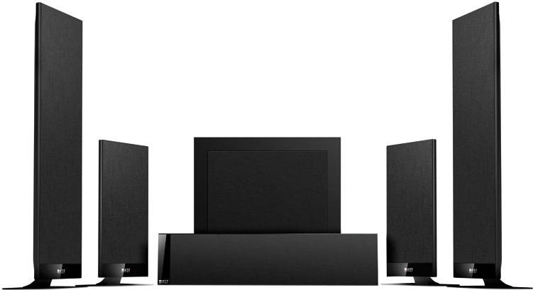 KEF T serie surround speakers