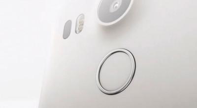 Vingerafdrukscanner LG NEXUS 5X