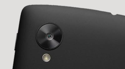 De camera van de LG NEXUS 5